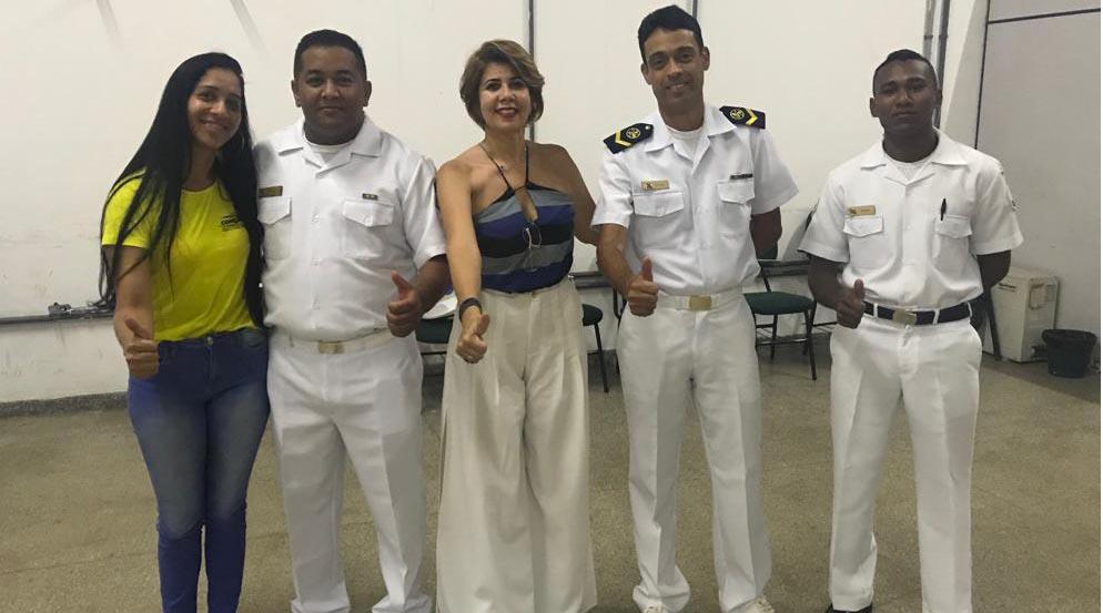 Turma da Conexão Náutica habilitada pela Marinha